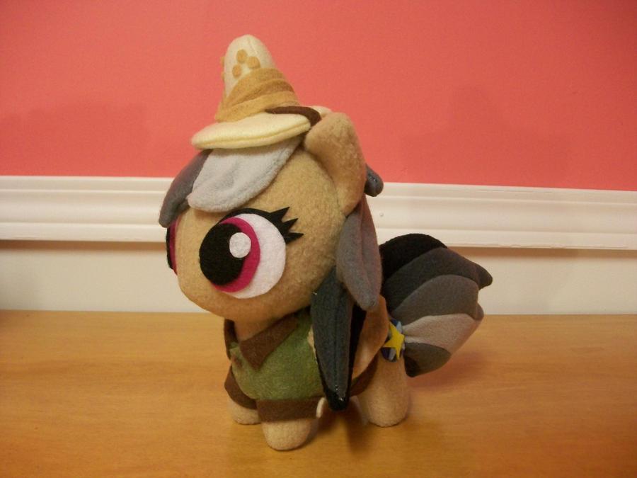 Daring Do Chibi Pony Plush MLP FIM by happybunny86