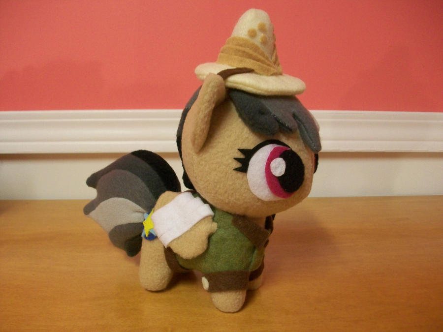 Daring Do Take 2  Chibi Pony Plush MLP FIM by happybunny86