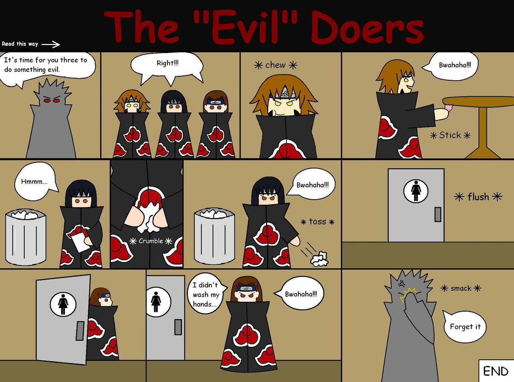 evil doers or evil genes Most evil-doers cannot unfortunately accomplish their schemes on their own  so you may want to install a doomsday gene in them that can kill them all with the .