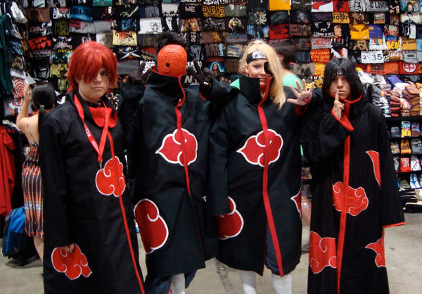 4 of the Akatsuki by LazyPandas
