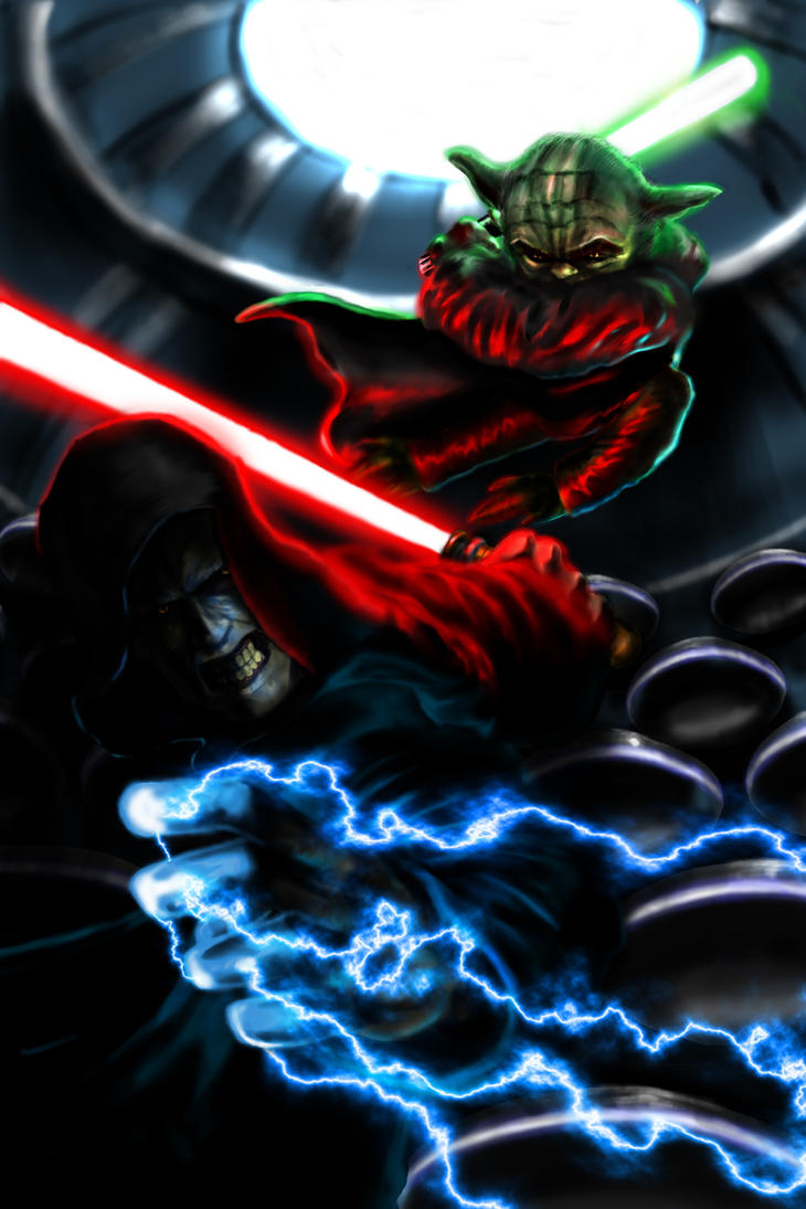 master yoda vs darth - photo #22