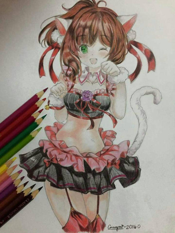 kitty by melvin29