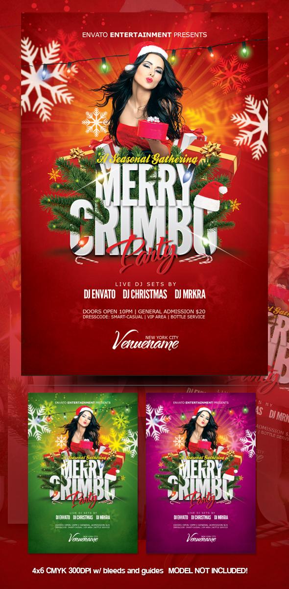 Merry Crimbo Christmas Flyer by mrkra