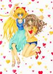 Minako and Rose