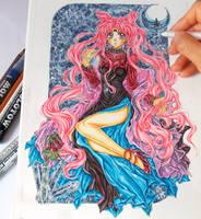 Black Lady by ArtTreasure