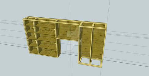 Shelves In Progress