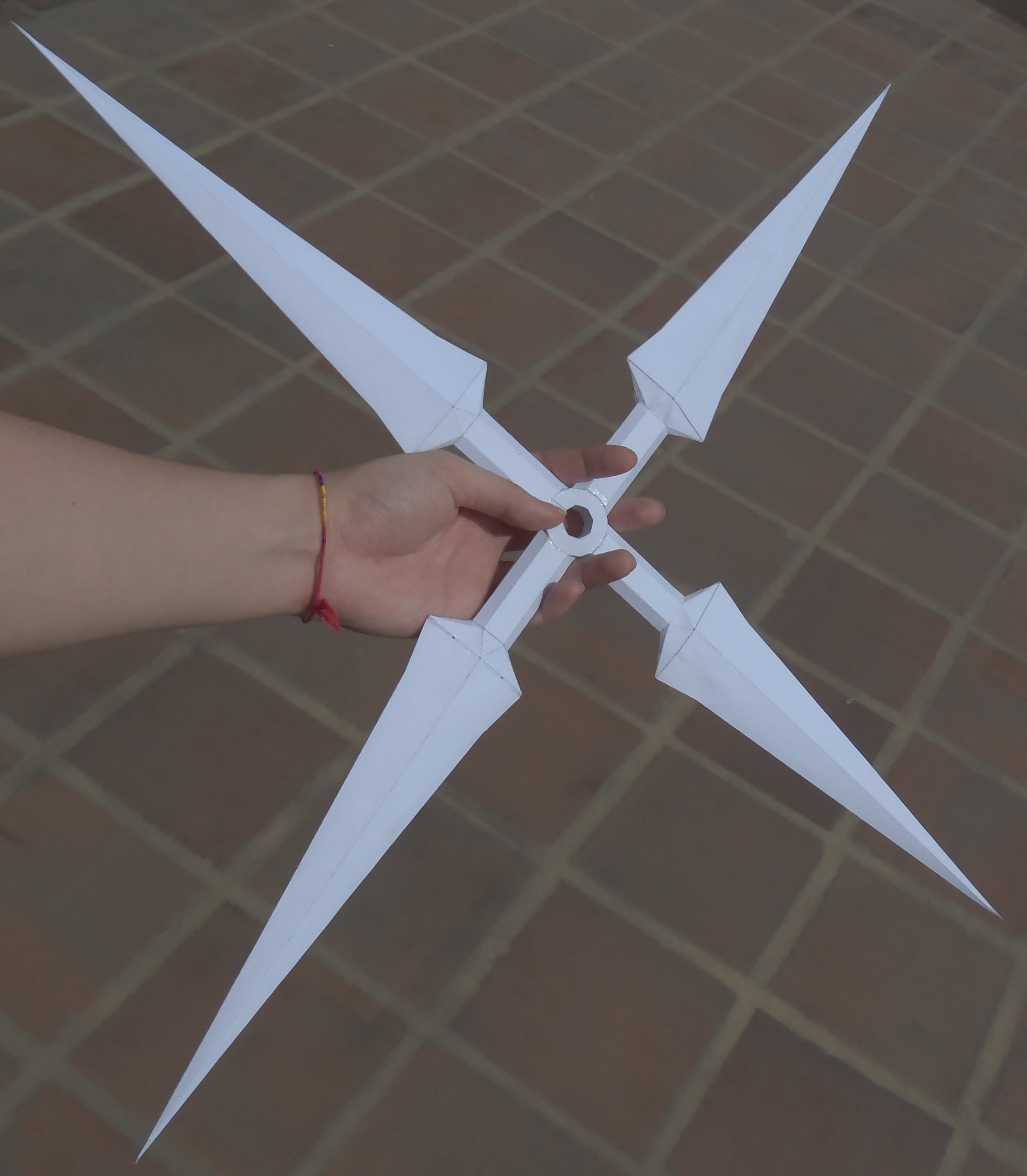 paper ninja weapons To make a ninja sword, get a thick, straight stick that's 1-2 feet long next, use a knife to remove any bark from the stick and carve a handle and a pointed tip into the wood once you have a rough shape, use sandpaper to make small adjustments.