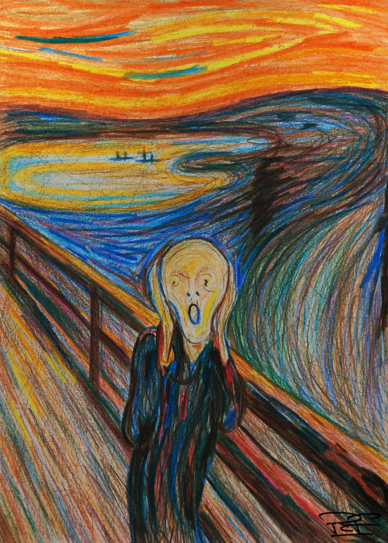 Art Painting Scream Original