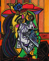 The Weeping Woman by artbypaulfisher