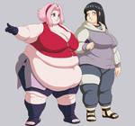 fat hina and sakura