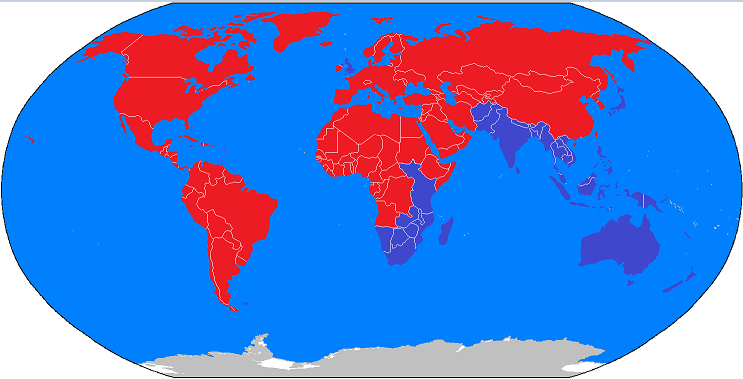 Right And Left Hand Traffic In 2100 By Mapmakermapmaker On