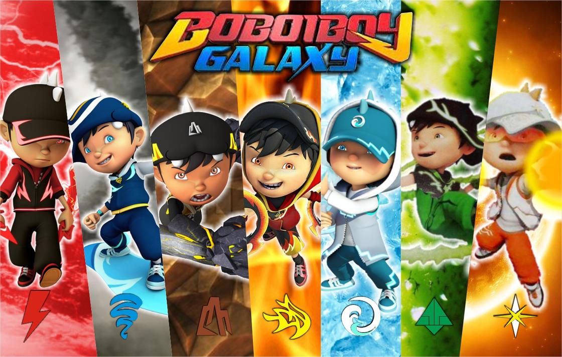 boboiboy galaxy with 7 element by viandry on deviantart