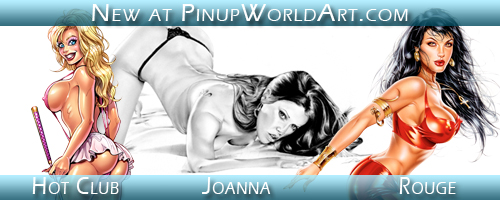 New at Pinup World Art by PinUp-World-Art