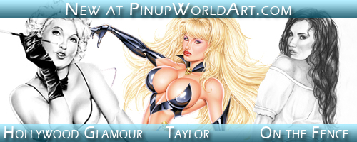 Pinup World Art Jan 15 2009 by PinUp-World-Art
