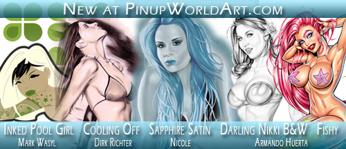 New at Pinup World Art 1-24-09 by PinUp-World-Art