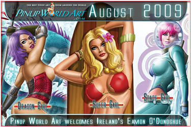 Welcome Eamon O Donoghue by PinUp-World-Art