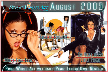 Welcome Dave Nestler by PinUp-World-Art