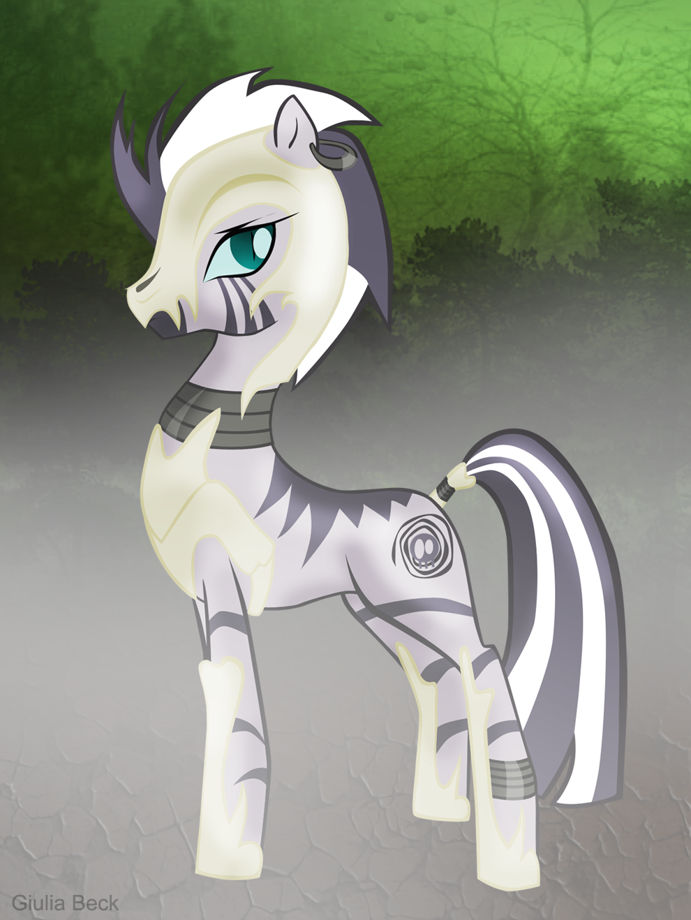 nightmare_zecora_by_giuliabeck-d4p59rk.png