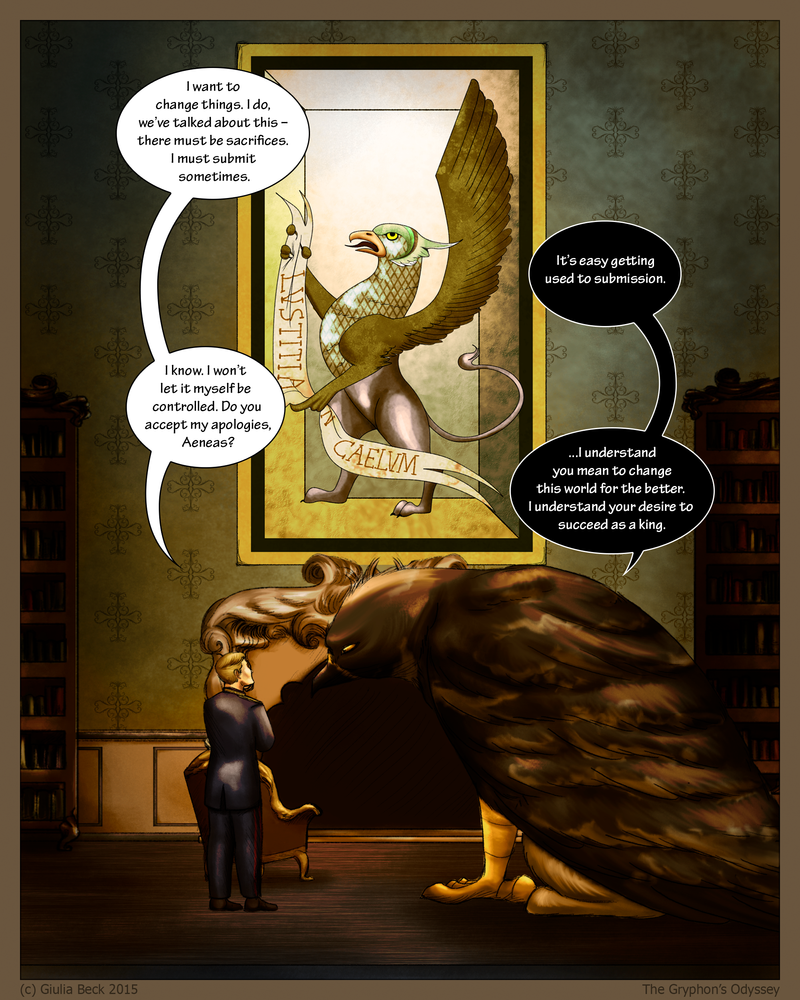 The Gryphon's Odyssey - 048 by Giuliabeck