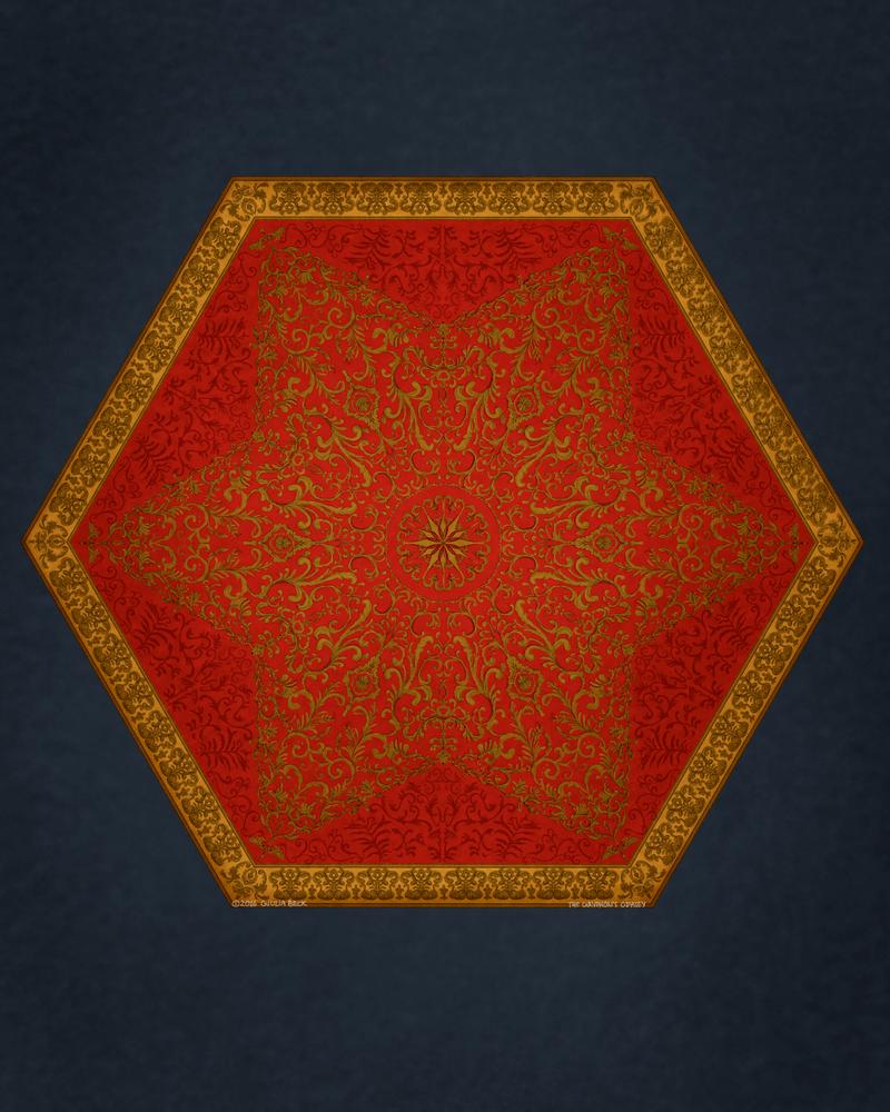 Royal rug by Giuliabeck