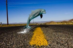 Highway splash by PitPistolet