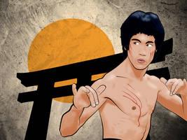 Bruce Lee wallpaper by PitPistolet