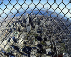 Wire fence by PitPistolet