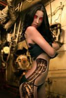 She cyborg by PitPistolet