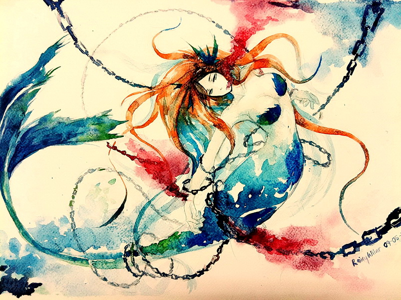The little mermaid by xx-RAINYDAY-xx