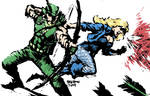 The Green Arrow and the Black Canary