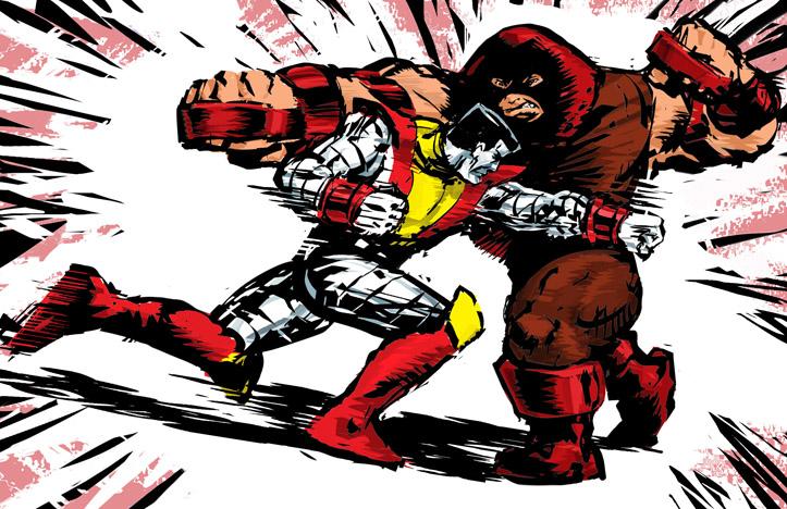 colossus vs juggernaut wwwpixsharkcom images