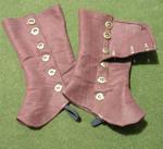 Brown wool spats 2