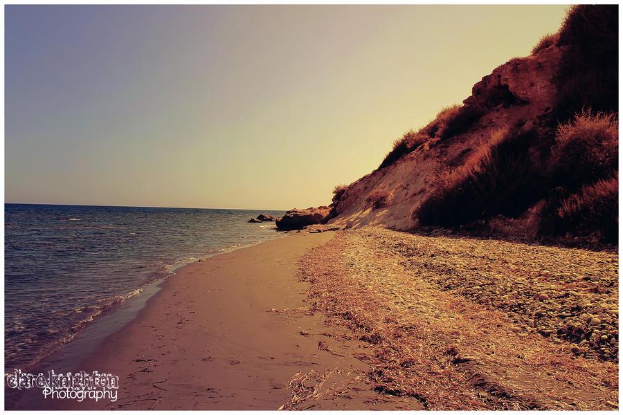 Beach - Larnaca, Cyprus by Clerdy