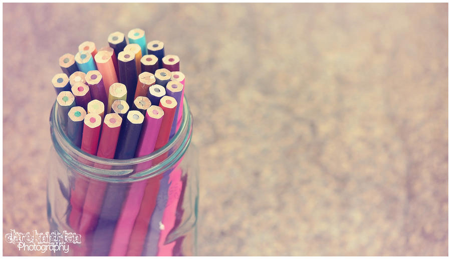 Pencil Jar 2 by Clerdy