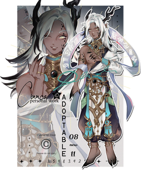 ADOPTABLE AUCTION [OPENED] full body+ portrait