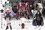 ADOPTABLE BATCH AUCTION [OPENED 2/3 available]