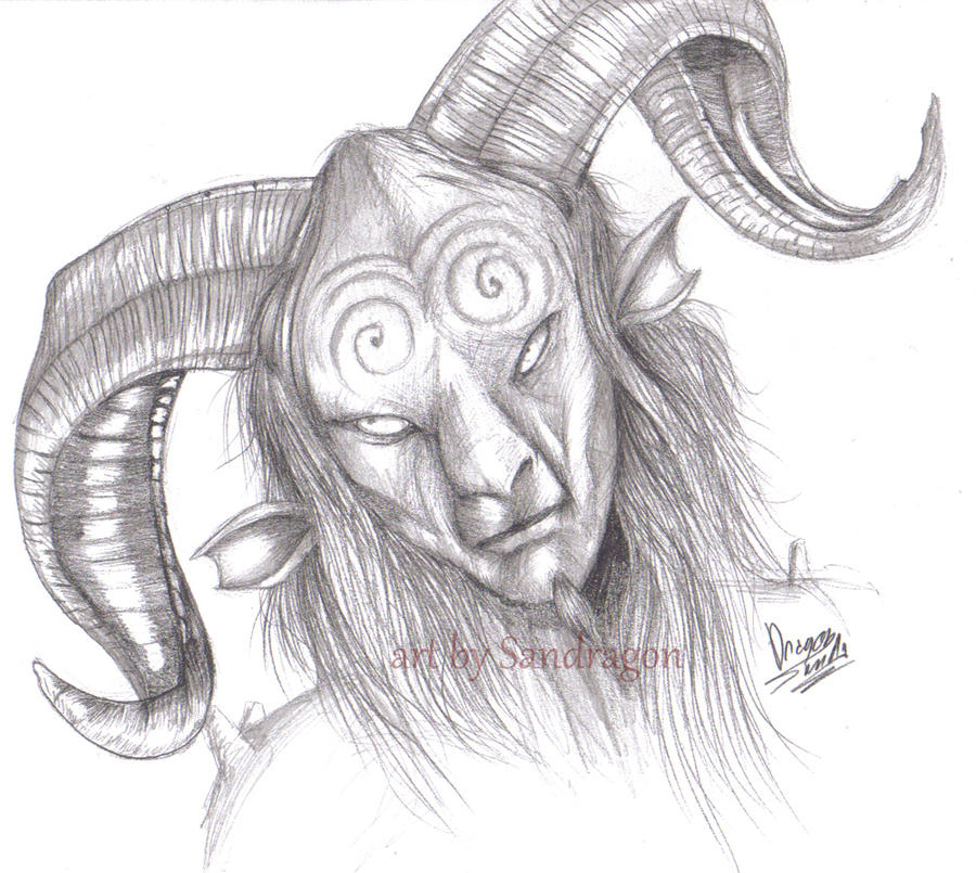Faun from Pan labyrinth by Sandragon on DeviantArt Labyrinth Movie Tattoo