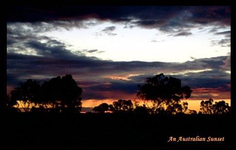 An Australian Sunset by rapo