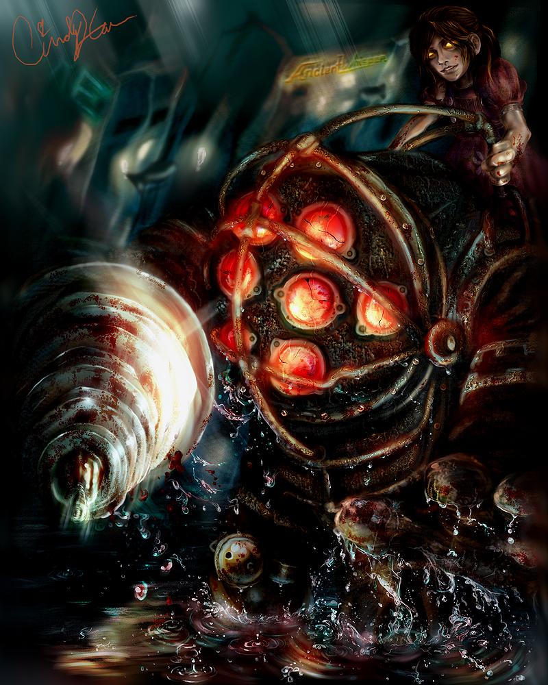 Provoked -Bioshock- by synchronetta