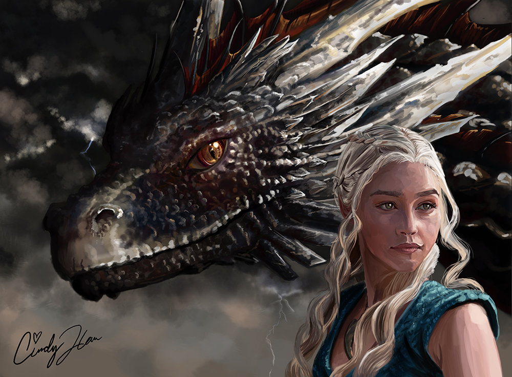 After the Storm ft. Daenerys (Game of Thrones) by synchronetta