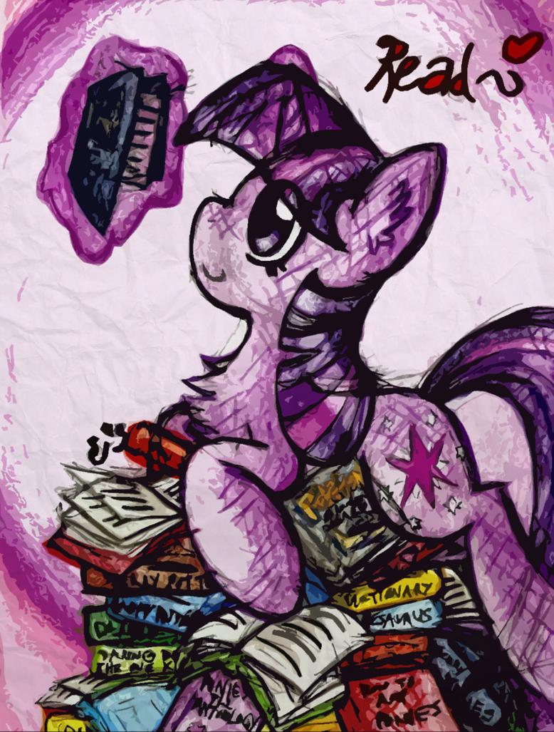 The cutest, smartest, all-around best pony by iRoxykun