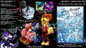 OLD COMMISSION SHEET DO NOT USE, SEE DESCRIPTION by iRoxykun
