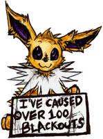 [Pokemon Shaming] Jolteon by iRoxykun