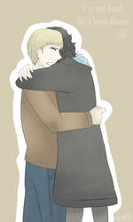 BBC Sherlock - Hug by Dyamirity