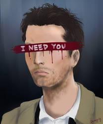 I need you. by Dyamirity