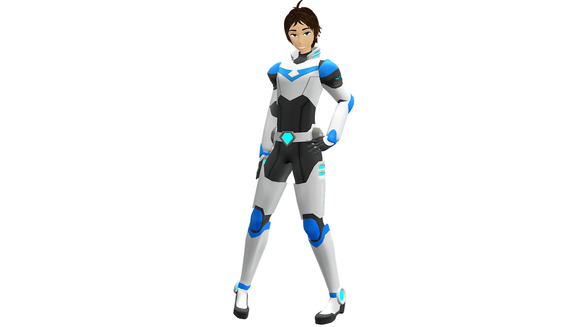 Voltron/ Lance full body view by Drinka1997
