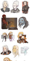 tes characters and oc