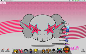 my bape theme custom desktop by lollyize