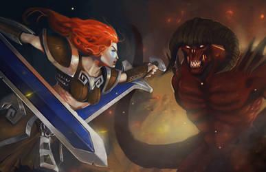 Sonya vs Diablo