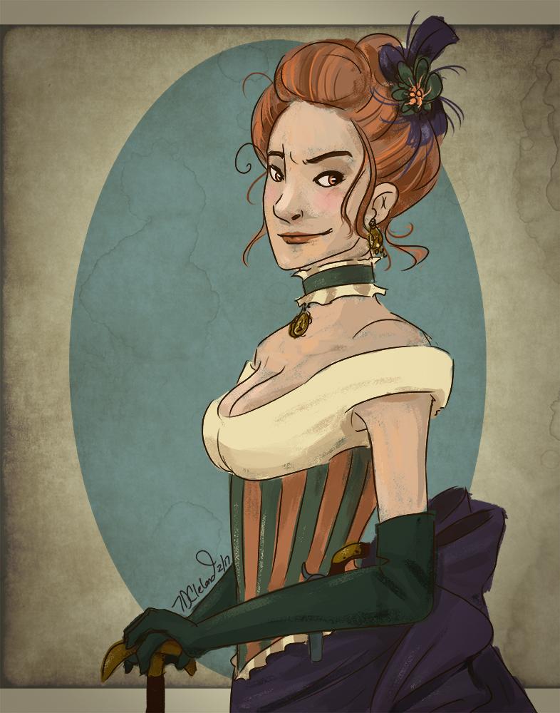 Julieta - Kickstarter Portrait by autumncoloredmelodie